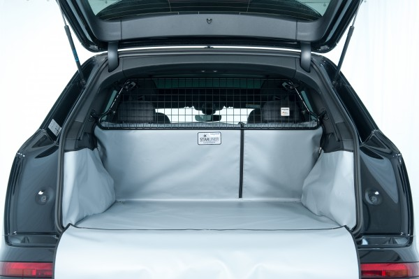 Starliner grey car boot tray for Skoda Octavia Kombi 3rd generation (Type 5E) built 2013, auch Sc, image similar