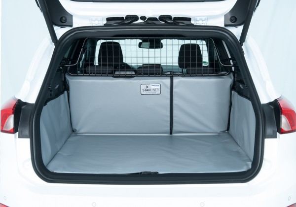 Starliner grey car boot tray for Ford Focus Turnier 4th Generation built since 2018, image similar