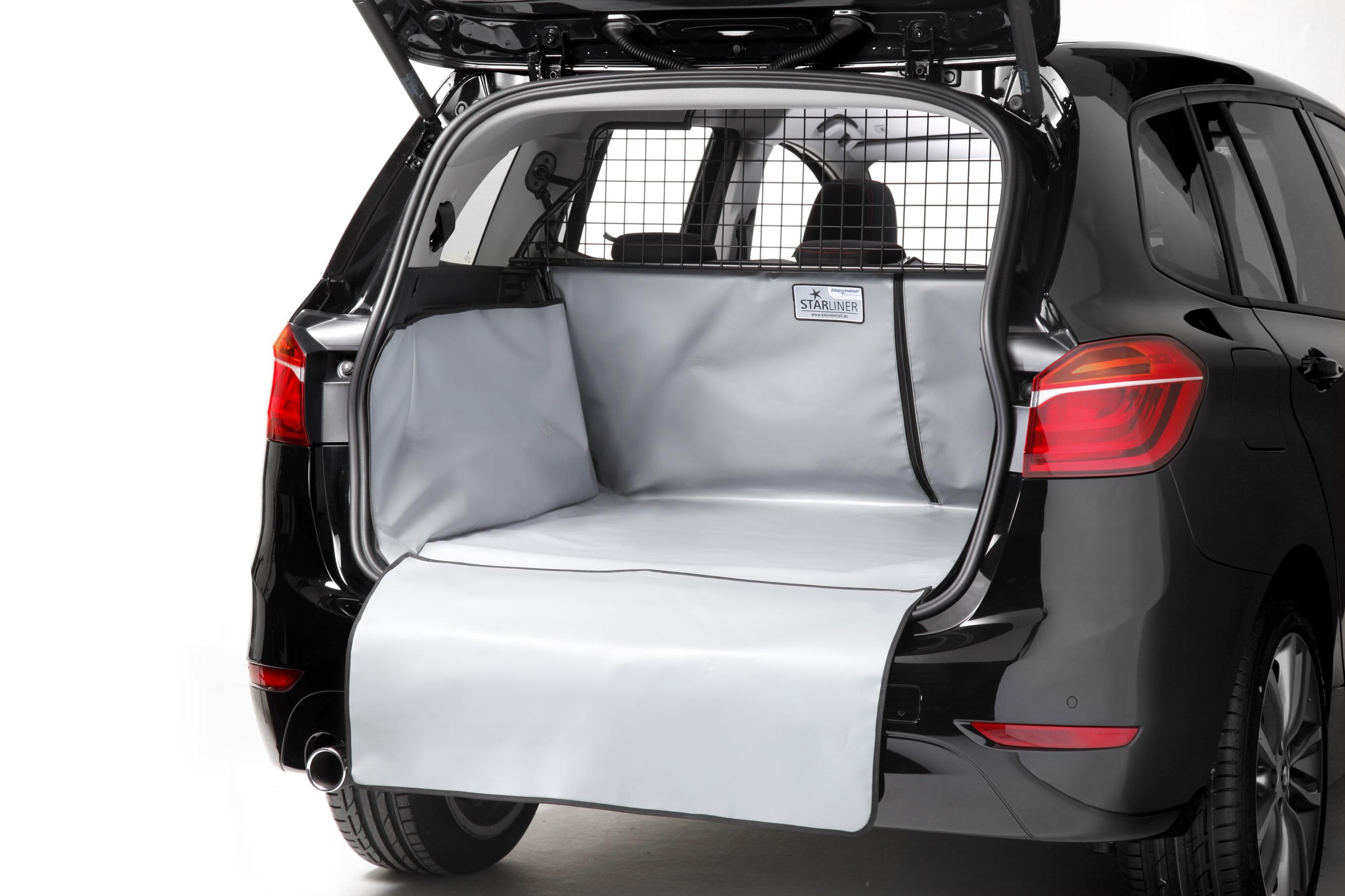 BMW 2er ab 2015 Kofferraumschutz schwarz Kleinmetall-Starliner Hunde Handwerker