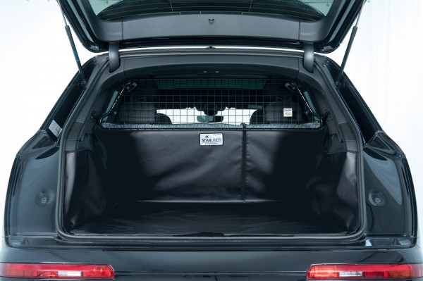 Starliner car boot tray black for BMW - X7 (Type G07), built 2019, 6-seater, image similar