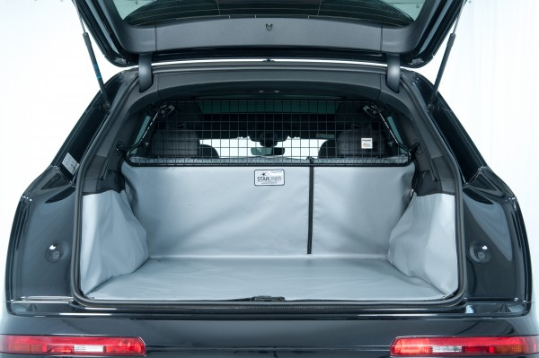 Starliner car boot tray grey for BMW - X7 (Type G07), built 2019, 7.seater, image similar