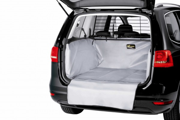 Starliner grey car boot tray for Hyundai H-1 Travel built 2008, image similar