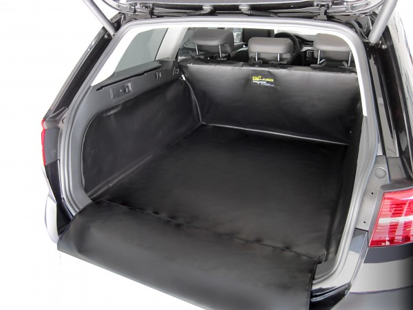 Starliner black car boot tray for VW Golf V Plus and VI Plus built 2004 - 2014, image similar