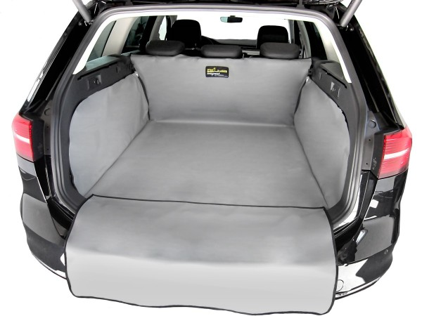 Starliner grey car boot tray for VW Polo IV (Type 9N/9N3) built 2001 - 2009, image similar