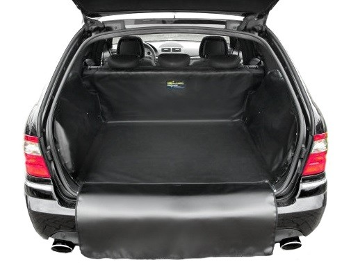 Starliner black car boot tray for KIA Carens compact van, from May 2013, 4th generation, image similar