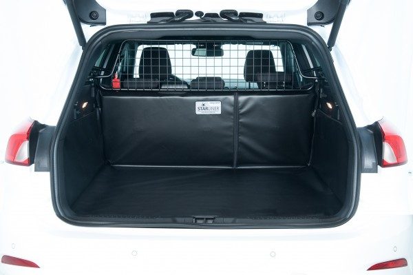 Starliner car boot tray black for Audi A1 built 2010 - 2018, image similar
